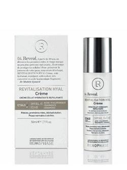 Крем Ревитализасьон - Revitalisation Hyal Cream Renophase, Восстанавливающий, 50 мл, с гиалуроновой кислотой и церамидами, купить с бесплатной доставкой по Москве.