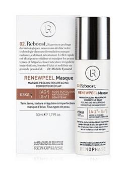 Маска Реньюпил Renewpeel Masque Renophase, с кислотами, фитоэстрогенами и антиоксидантами, купить с бесплатной доставкой по Москве.