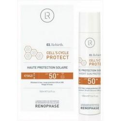 SPF-50, Cell's Cycle Protect, Renophase, Крем солнцезащитный, 100 мл. - Эффект применения - СОЛНЦЕЗАЩИТНЫЙ ЭФФЕКТ / УВЛАЖНЕНИЕ