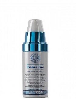 Восстанавливающий антивозрастной крем для кожи вокруг глаз и губ EGF-EL Tebiskin, 15 мл – МКАД бесплатная доставка.