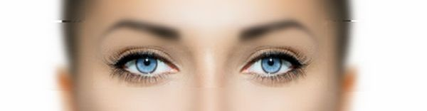 Кожа вокруг глаз без характерных проблем