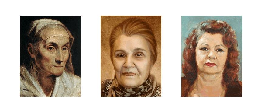 Типы старения: мелкоморщинистый, крупноморщинистый, усталое лицо