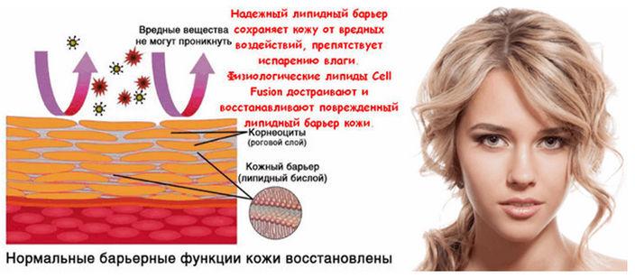 Крем Cell Fusion (Сел Фьюжен), укрепление липидного барьера
